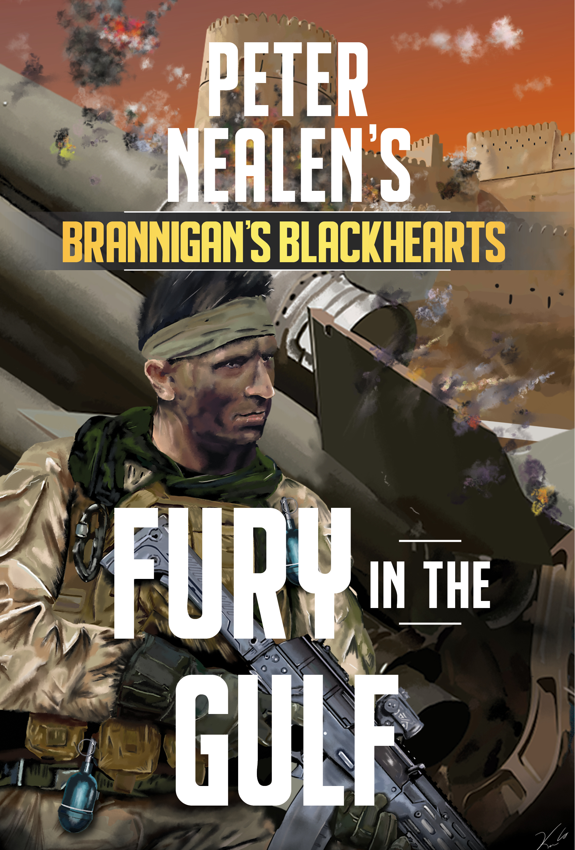 Fury in the Gulf by Peter Nealen